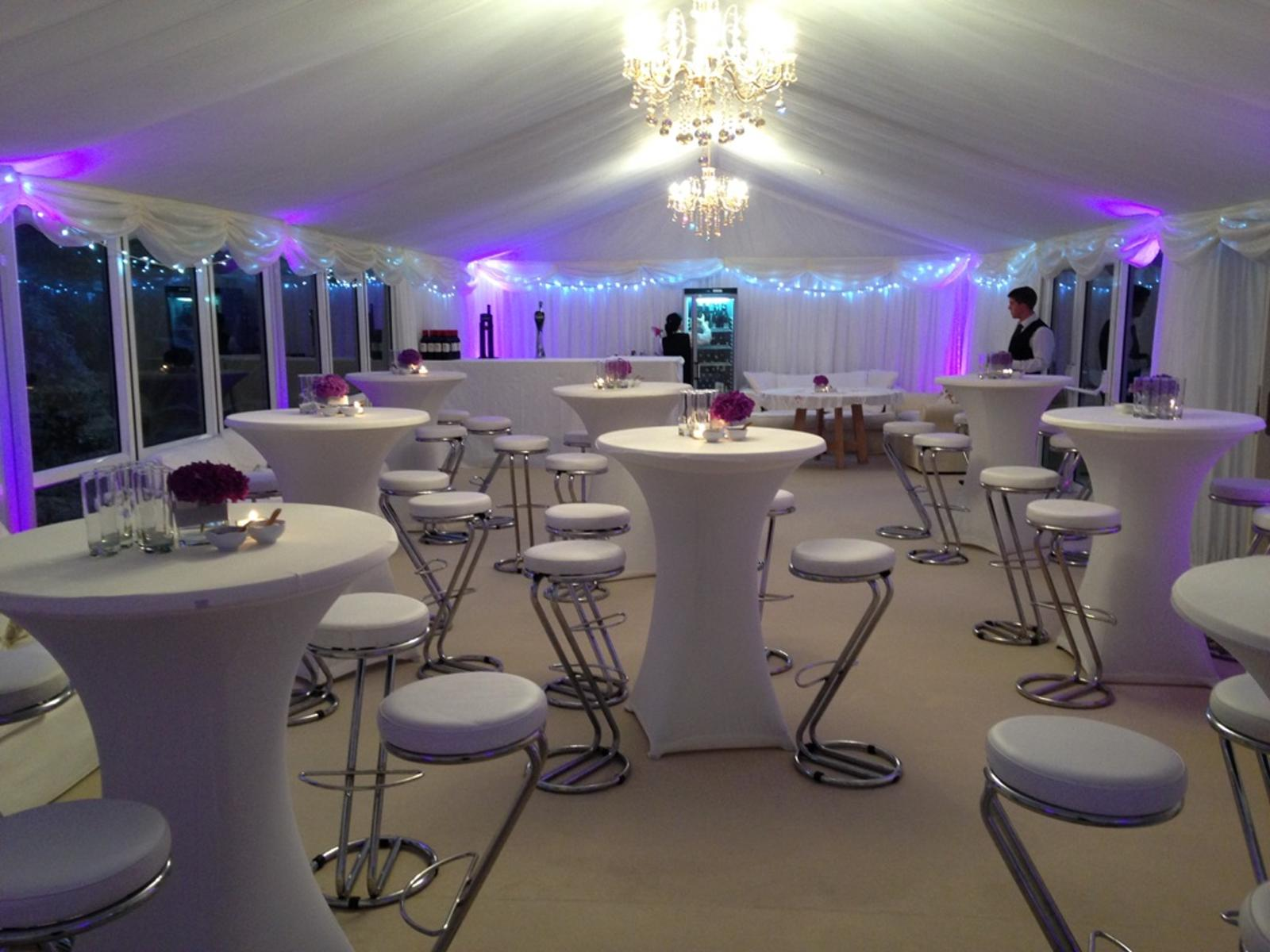 Party Marquee Hire with pods