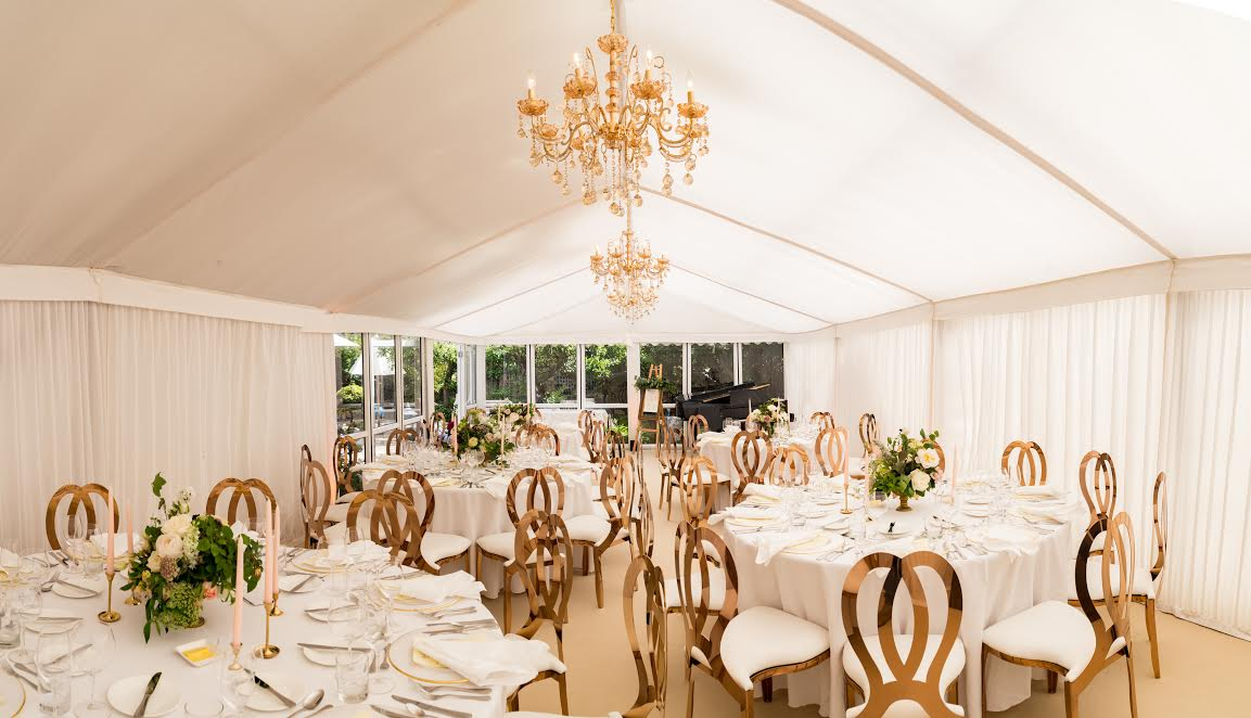 Luxury Party Gold marquee