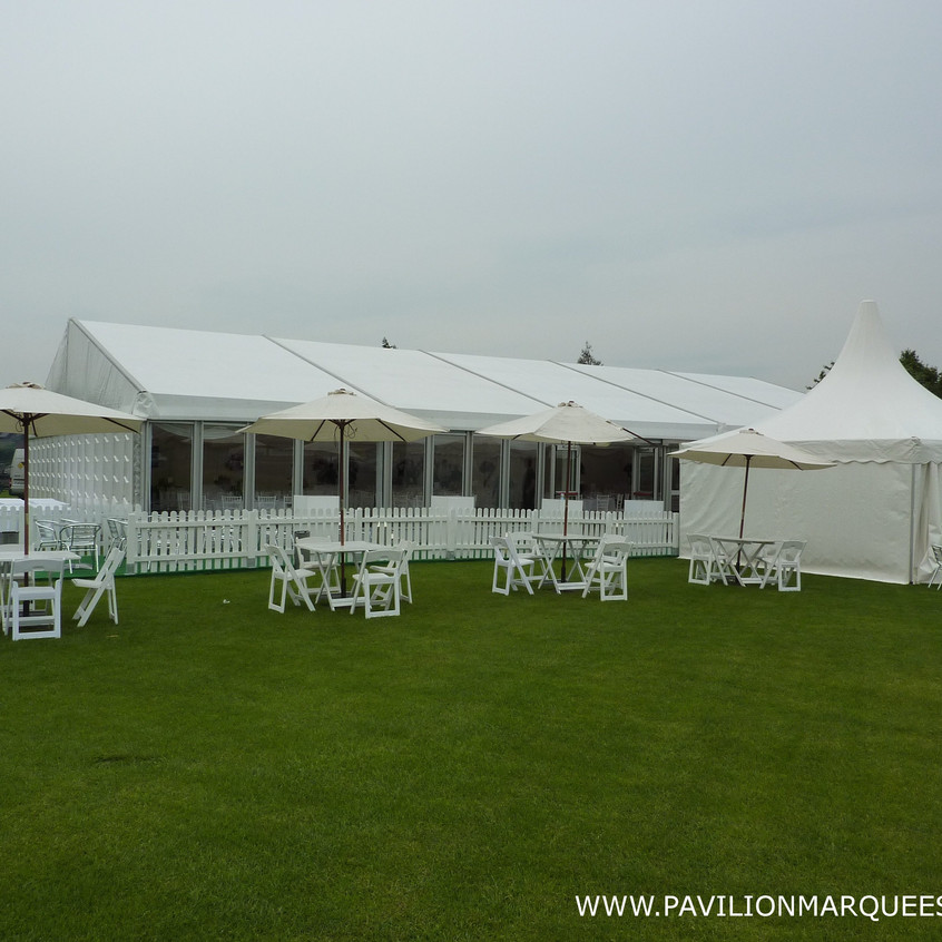 15M Marquee with Pagoda