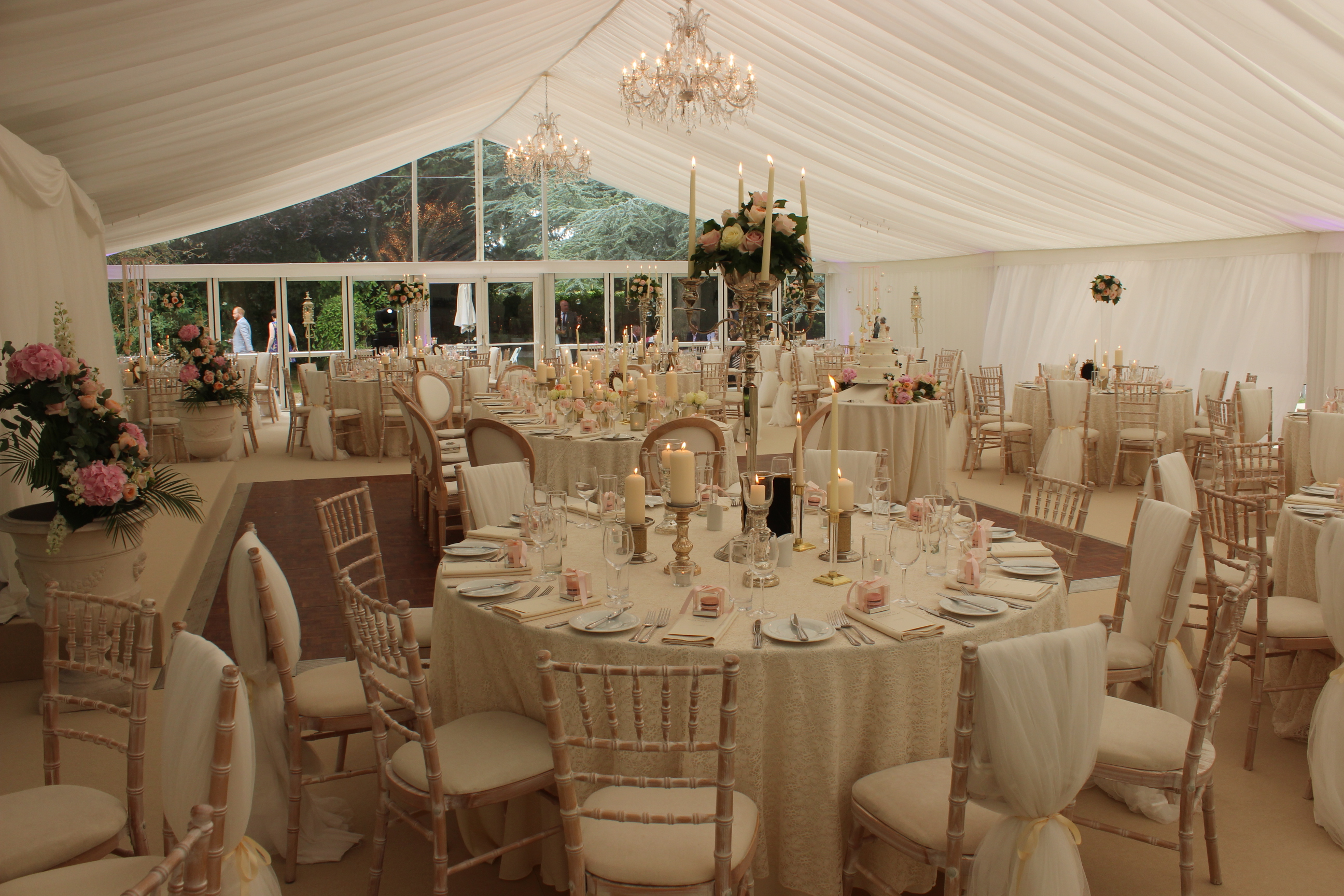 Glass Marquee clear gable