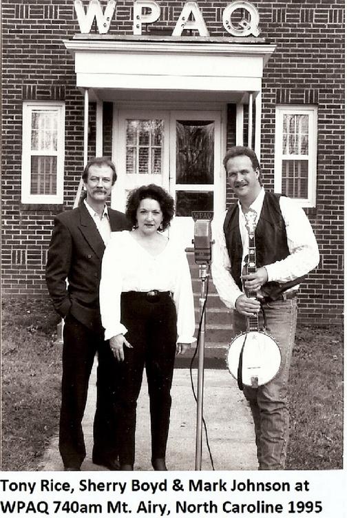 WPAQ Tony Rice, Sherry Boyd, Mark  Johns