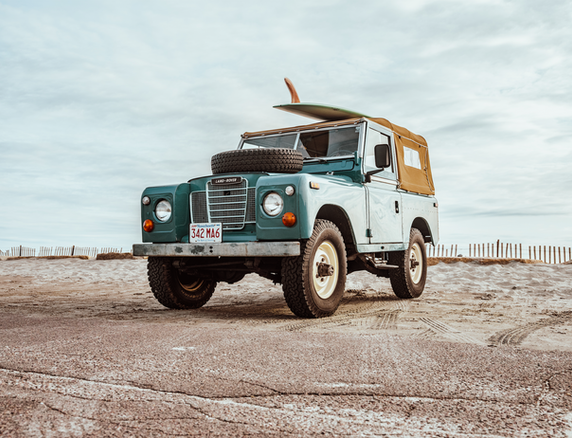 '74 SERIES III LAND ROVER