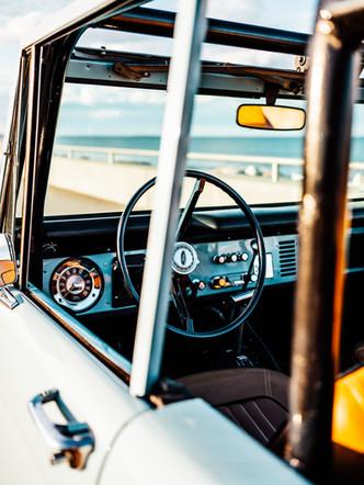 71' Bronco Dash #1