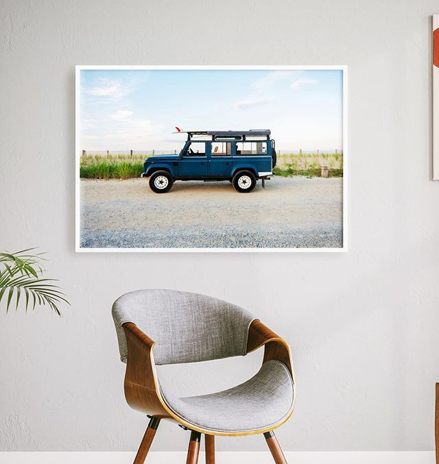 """""""Defender 110 Blue"""", Limited to a series"""