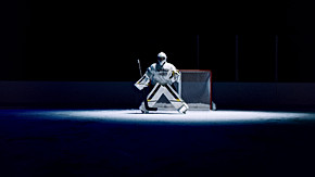"WARRIOR HOCKEY ""RITUAL G5 GOALIE CAMPAIGN"""