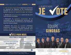 Élections Équipe Gingras