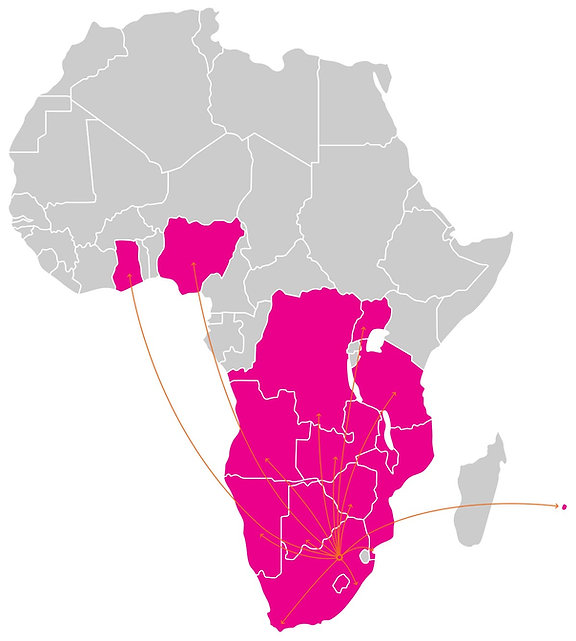 Bambisana Distribution (Pty) Ltd. Sub-Saharan Distribution