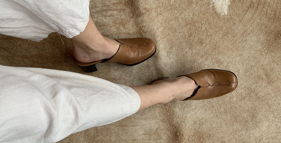the most comfortable leather mules