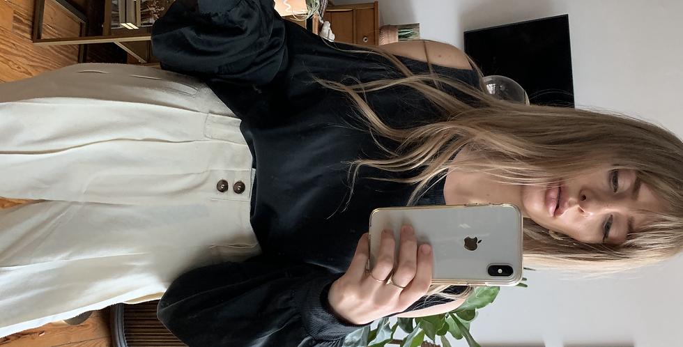 Silk slate grey sweater alternative