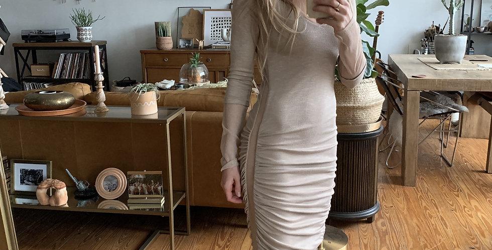 Abi Ferrin Side panel dress