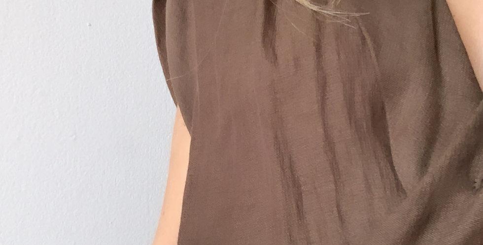 Olive wrap dress