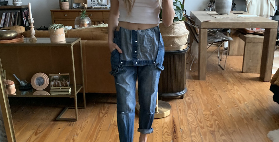 Essentials Blue jean overalls