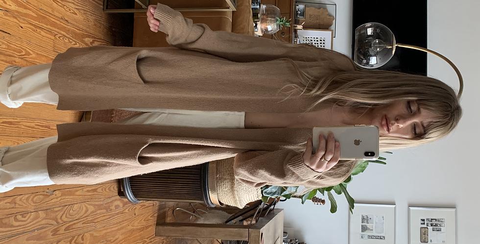 Camel cardigan