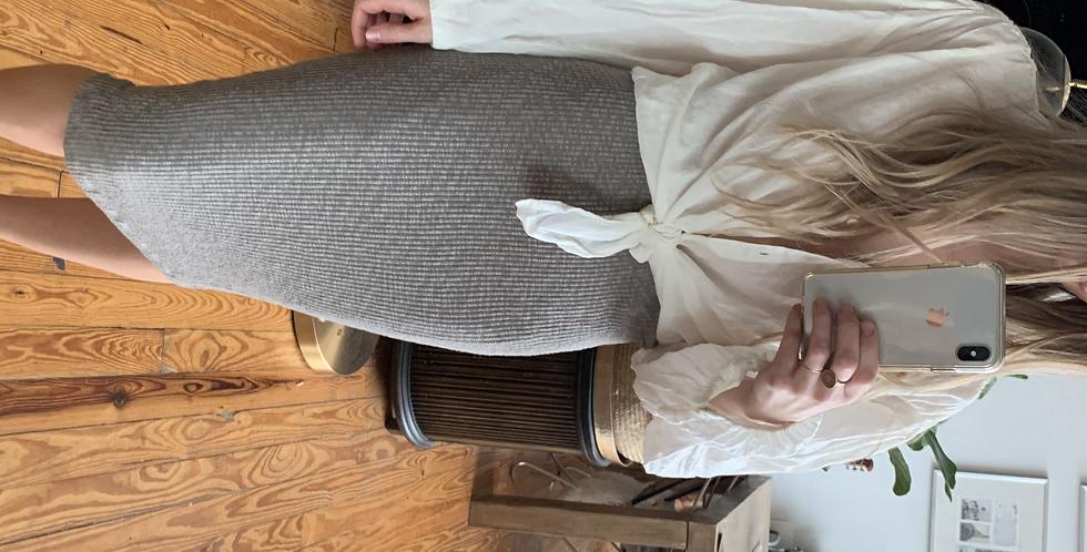 sweater knit skirt