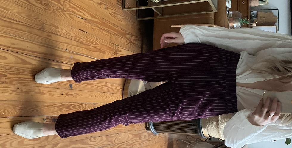 rock & roll stripe pants