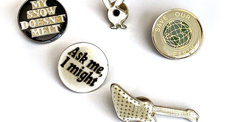 Vintage Enamel Pins