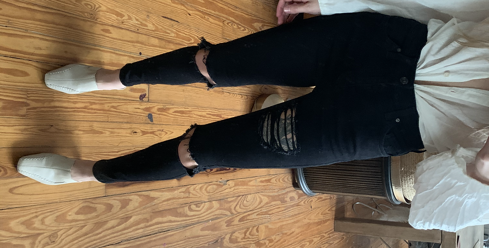 favorite black jeans (high waist)