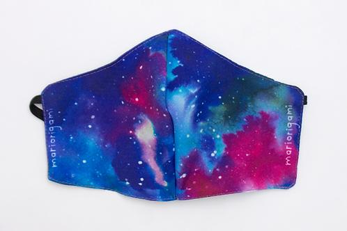 Cubrebocas Galaxia