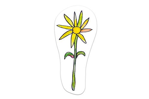 Separador Flor amarilla