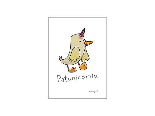 Print Patonicornio