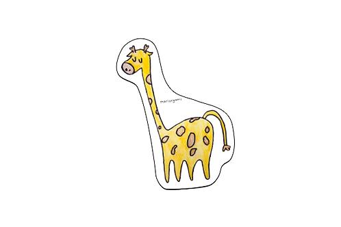 Sticker Jirafa