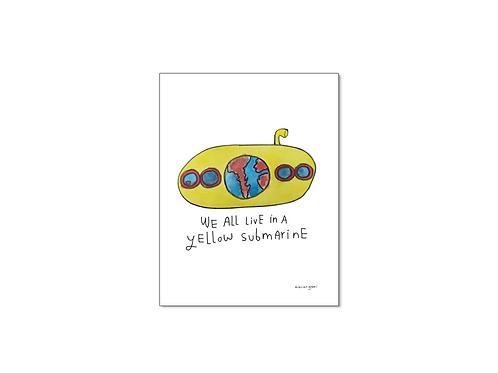 Print Yellow Submarine