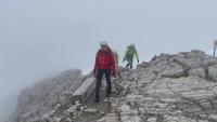 Das Gipfelplateau