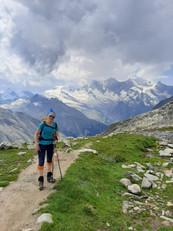 Zustiegsweg zur Almagellerhütte