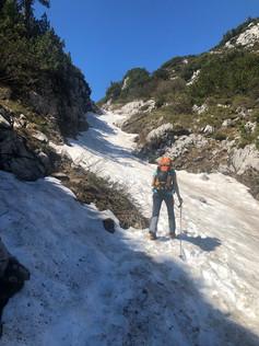 Aufstieg zur Simonyhütte