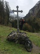 Manni mit Milla am Prinzenkreuz