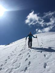 Abstieg vom Friederspitz