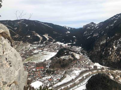 Aussicht nach Oberammergau