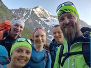 Startfoto am Gipfeltag