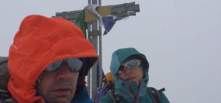 Gipfel Nadelhorn