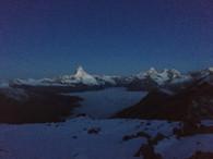 Und wieder das Matterhorn