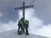 Alex und Manuel am Gipfel