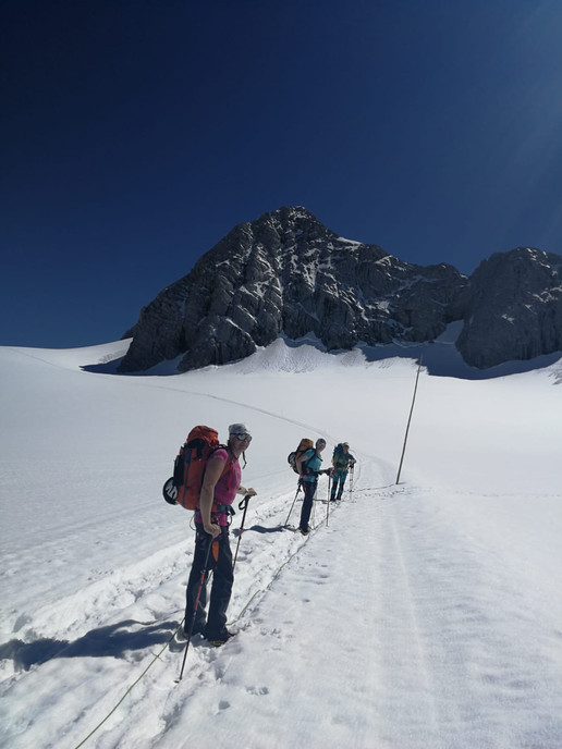 Aufstieg Seethaler Hütte