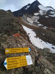 Kein Wegweiser zum Gipfel