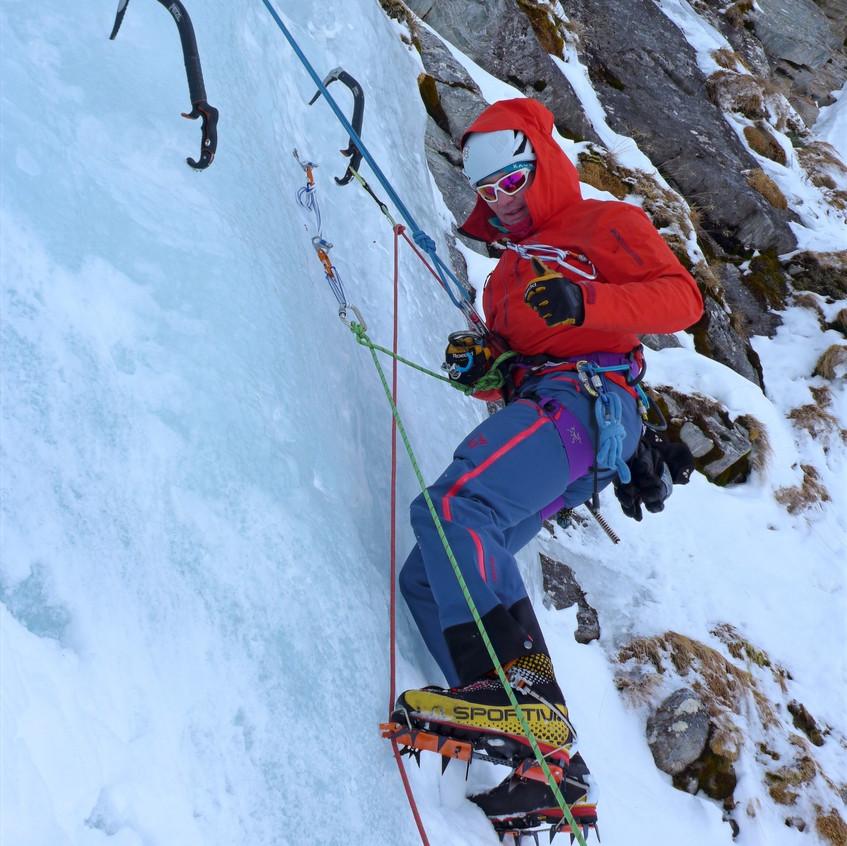 Eisfall am Hintertuxer Gletscher