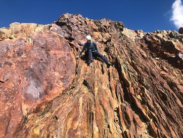 Abstieg zur Finsteraarhornhütte