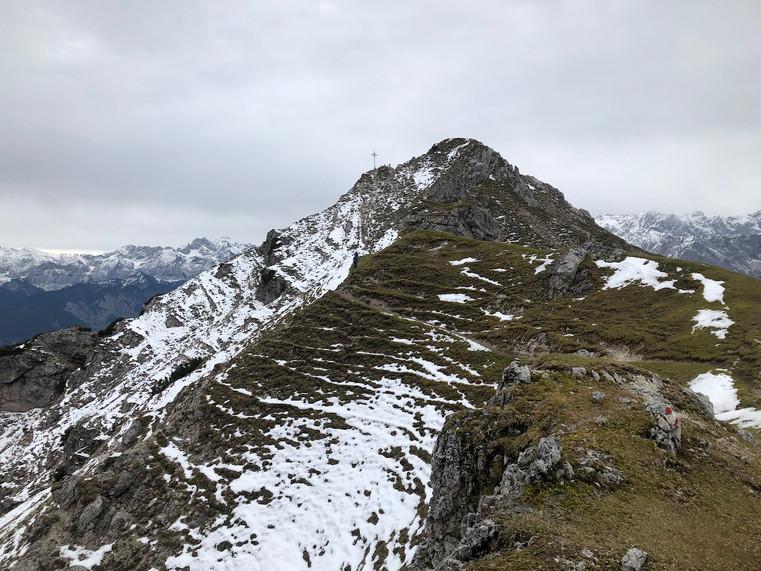 Auf dem Abstieg