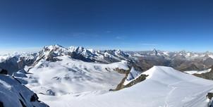 Südwest-Panorama vom Gipfel aus