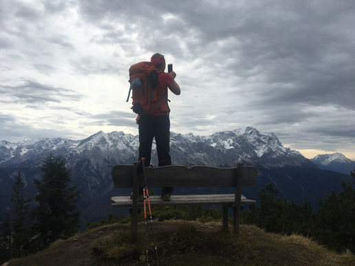 Zwischen Stepbergalm und Gipfel