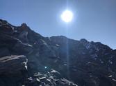 Das Gipfelkreuz kommt in Sicht