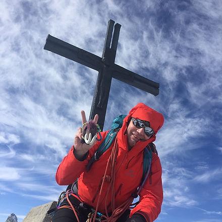 Gipfel Allalinhorn