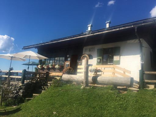 Die Hochlandhütte auf 1630m