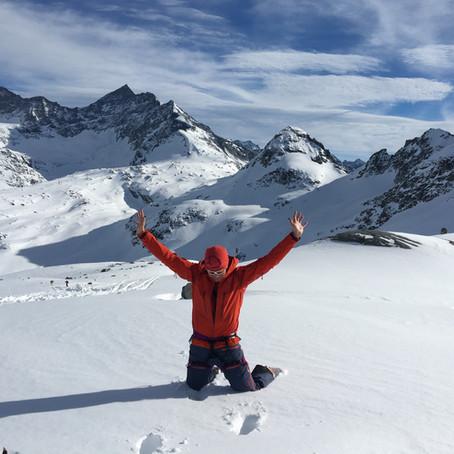 Skihochtour in neuer Umgebung