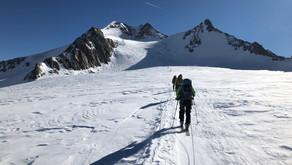 Skihochtour auf die Wildspitze, 3774m