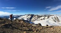 Pano vom Gipfel mit Blick Richtung Südwest