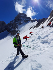 Übungen im Schnee